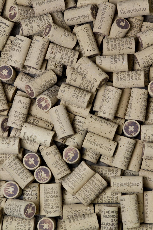 Helvetica Cork