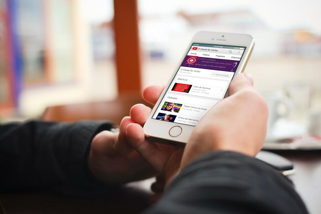 O canal do Vinho - Iphone 5 - Blog